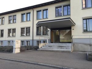 Trial in Switzerland where B.V. was tried for homicide and rape